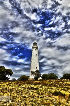 Rottnest Island lighthouse.