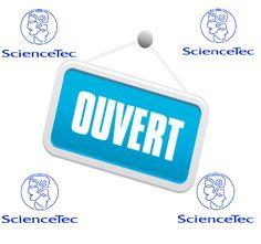 La boutique en ligne e-sciencetec est ouverte http://www.e-sciencetec.fr