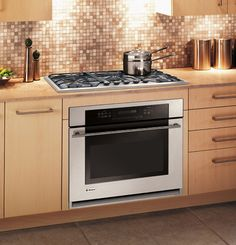 drop-in cooktop & built-in oven. Perfect.