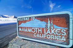 Mammoth Lakes California <3