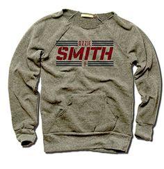 Ozzie Smith St. Louis Women's Maniac Sweatshirt Ozzie Smi...