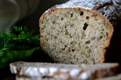 Bread with rucola.