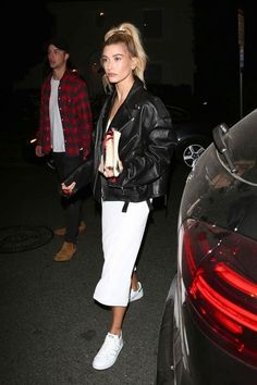 Discovered by milla. Find images and videos about hailey baldwin on We Heart It - the app to get lost in what you love. Estilo Hailey Baldwin, Hailey Baldwin Style, Fall Outfits, Summer Outfits, Casual Outfits, Fashion Outfits, Looks Rihanna, Baldwin Street, Street Looks
