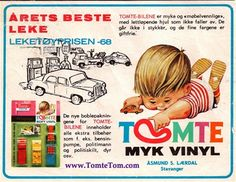 Tomte Soft Vinyl - Toy of the Year  - 1968