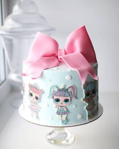 Fabulous Princess Birthday Decorations - Best Resources and Party Service Guide Doll Birthday Cake, Funny Birthday Cakes, Princess Birthday, Lol Doll Cake, Easy Chocolate Chip Cookies, Chocolate Art, Surprise Cake, Ballerina Cakes, Lol Dolls