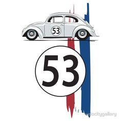 VW Beetle Herbie by velocitygallery