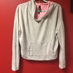 Workout sweat shirt. New Aeropostale workout sweater. Only worn once. In great condition. Size large but fits like a medium. Aeropostale Sweaters