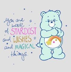 You are made of stardust and wishes and magical things. ✨   #happysunday #sundayquote