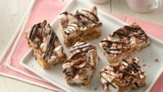 You can enjoy the flavor of s'mores anytime with these S'mores Chocolate Toast Crunch® Bars. Pack them in lunch boxes or have them ready when the kids get home for a yummy after-school snack!