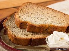 Amish Banana Bread - This basic banana bread recipe will easily become one of your favorites!