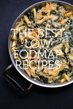 The Best Low FODMAP Recipes A complete list of low FODMAP recipes to go along with your diet plan, plus other tips for putting low FODMAP foods to work in the kitchen. Fodmap Recipes, Healthy Recipes, Recipes For Ibs, Ibs Recipes Dinner, Healthy Dishes, Kitchen Recipes, Tasty Dishes, Healthy Meals, Food Map Diet