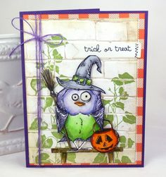 Crazy Witchy Bird by BeckyTE - Cards and Paper Crafts at Splitcoaststampers