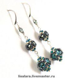 "Handmade earrings. Fair Masters - handmade earrings ""Magician of Oz"" SOLD. Handmade."