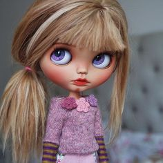 Blythe Sadie #CustomCommission #BlythebyCihui #BlytheDoll…