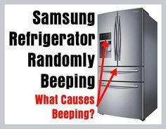 Samsung Refrigerator Randomly Beeping – What Causes Alarm Beeps?