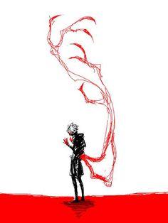 Tokyo Ghoul {Fan Art} | Kaneki Ken as Centipede. Loving this art style.