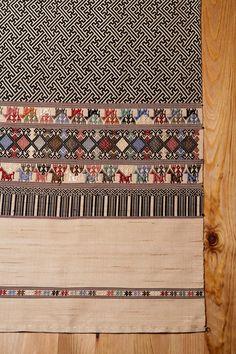 Minta all natural handwoven silk Table Runner. $249.99, via Etsy.