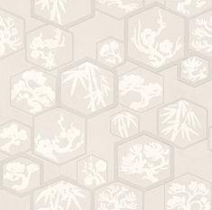Shouchikubai  Pale Pink wallpaper by Farrow & Ball