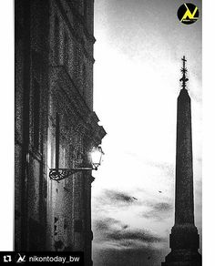 """""""Silhouette Obelisco"""" - Roma  #photobydperry  #Repost @nikontoday_bw with @repostapp  Photo by  @david_r_perry Congratulations!  Selected by  @nurpksz  Follow  @objektifimizden  Follow  @nikontoday  Follow  @nikontoday_bw  Tag  #objektifimizden  Tag  #nikontoday Tag  #nikontoday_bw"""