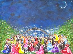 Some Enchanted Evening   Art. Passion. ZsaZsa Bellagio