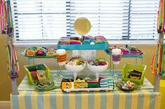 I can also use cake plates to display my stuff.  Maybe a vintage white one.
