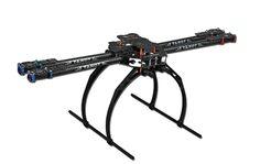 F05544 Tarot  650  Folding 3K Carbon Fiber Aluminum Tubes Frame Kit TL65B02 For Quadcopter Aircraft