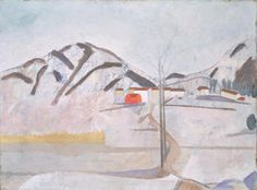 Ben Nicholson Cortivallo. Lugano, 1921-1923. Tate Gallery, Londres.http://arteseanp.blogspot.com