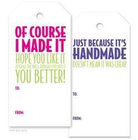 Gift tags for handmade crochet items: Inspiration to make your own or purchase them here.