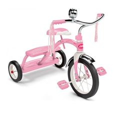 Radio Flyer Classic Dual Deck Tricycle in Pink - http://www.wayfair.com/Radio-Flyer-Classic-Dual-Deck-Tricycle-in-Pink-33P-FLY1111.html