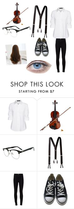 """Untitled #73"" by killer-girl ❤ liked on Polyvore featuring Steffen Schraut, Rosin, Frame Denim and Converse"