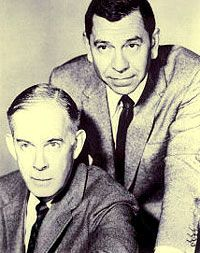 """The Dragnet TV show debuts on January Starred Jack Webb as Sargent Joe Friday and Henry Morgan as Officer Bill Gannon. """"Ladies and gentlemen, the story you're about to hear is true. Only the names have been changed to protect the innocent. 1960s Tv Shows, Police Detective, Old Shows, Great Tv Shows, Vintage Tv, Drama Series, Tv Series, Old Tv, Classic Tv"""