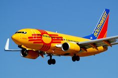 Southwest Airlines New Mexico Plane