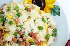 Riso alla cantonese Bimby: ricetta originale - Fidelity Cucina Grains, Food, Thermomix, Eten, Seeds, Meals, Korn, Diet