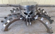 Skull Piston from Morgan's Garage