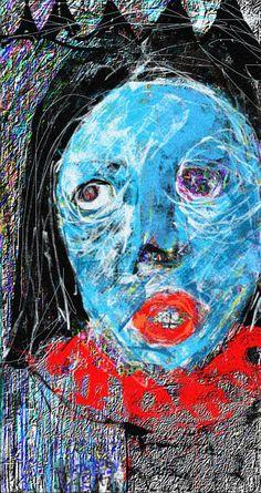 """""""BLUE LADY"""" BY Ruth Clotworthy"""