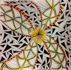 """Tickled To Tangle: """"It's a String Thing"""" #205 Tiles"""