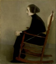 Painting. Helene Schjerfbeck, Finland.