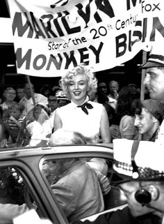 as grand marshall of the Miss America pageant parade, Atlantic City, 1952