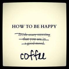 LOL...definitely true sometimes, often on Mondays, right? Happy #MondayCoffeeSmiles