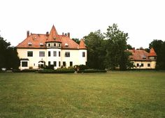 Zichy kastély  Sárszentmihály, Hungary Landscapes, Backgrounds, Mansions, House Styles, World, Natural, Image, Home Decor, Paisajes