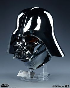 Star Wars Darth Vader Helmet Scaled Replica by EFX Collectib Clone Trooper Helmet, Star Wars Helmet, Vader Helmet, Vader Star Wars, Star Wars Pictures, Star Wars Images, Man Cave Plans, Mascara Darth Vader, Darth Vader Helm