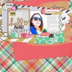 Must scraplift this page by @Tiffany Wheeler | Hello Change Collection from Peppermint Creative