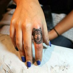 40 So Cute Finger Tattoos to Start Your Tattoo Wish | http://hercanvas.com/40-cute-finger-tattoos-start-tattoo-wish/