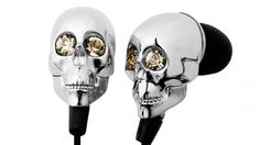 Find images and videos about music, skull and skull headphones on We Heart It - the app to get lost in what you love. Gold Skull, Skull Art, Crane, Skull Headphones, Gadgets And Gizmos, Tech Gadgets, Geek Stuff, Girly, Bling