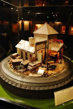 by Mark Wu Ltd, via Flickr; great use of the tire as a base, and I like the idea of a circular diorama.