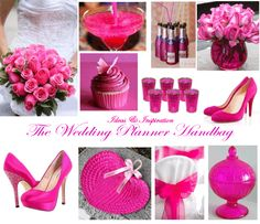 Without the pink with silver in some cases just black and white in hot pink wedding themewhat my sis wants she gets junglespirit Gallery