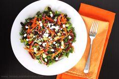Curry Kale Quinoa Salad (gluten free, vegetarian) by JesseLWellness
