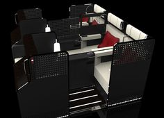 Can the radical 'Space X' business class make the middle seat desirable? - Australian Business Traveller