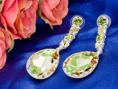 A Touch of Envy Earrings  Prom Trend