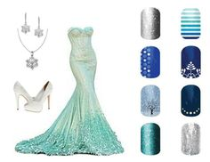 Guess the disney princess.... elsa. Order at: nicjessop.jamberrynails.net Nicole Jessop- Jamberry Independent Consultant